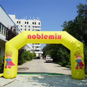 Wholesale Inflatable Arch Entrance Customized Inflatable Marathon Finished Archway Promotional Inflatable Arch with Free Logos