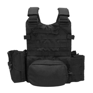 Outdoor Tactical Molle Nylon Hydration Bag Hunting Vest Camo Bags Military Army Combat Vest Hydration Pouch Backpack #664523