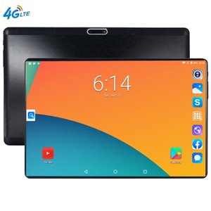 Wholesale S119 IPS Tablettle Pocket PC 2.5D Glasses Tempered phone Tablets 10.1 inch Android 9.0 1280 800 64GB ROM Tablet PC 6GB Ram 5MP