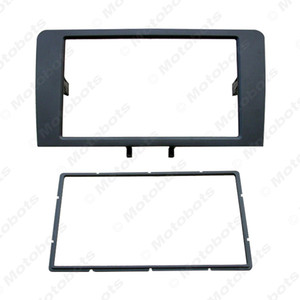 Car 2DIN Stereo Radio Panel Fascia Frame For AUDI A3 2003-2008 A3 (8P 8PA) 2008-2012 Refitting Dash Fitting CD Frame Trim Kit #5042 on Sale