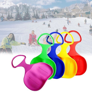 Wholesale Outdoor Sports Skiing Pad Sled Snowboard for Kids Adult Children Winter Thicken Plastic Sand Grass Sledge Snow Luge