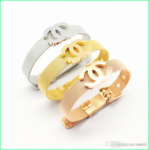 Wholesale C Best Selling Designer Bracelet For Women Fashion High end Quality For Ladies Luxury Jewelry With Gold RoseGold Silver colors Drop Shipping