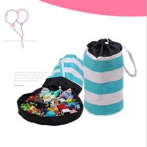 Wholesale hanging toy organizer resale online - Toy storage bucket Colorful magic storage bucket Children toy storage basket children room organizer best gift for children style LXL886Q