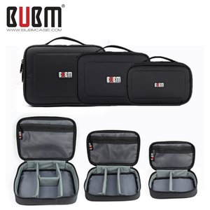 Bubm Electronic Accessories Storage Bag Digital Gadget Devices Cable Usb Flash Ipad Organizer Travel Carry Case Cosmetic Bag Q190430