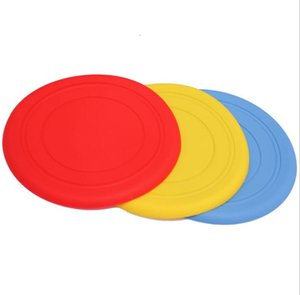 Wholesale Factory Direct Pet Frisbee Silicone Frisbee Dog Frisbee Soft Dog Training Supplies Dog Toy