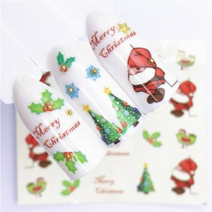 1 Pcs Fruit Christmas DIY Nail Stickers Colorful Flower Nail Polish Long-Lasting Polish Girl Cute Decoration Tool on Sale