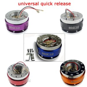 Wholesale HOT Universal Car Steering Wheel Quick Release Hub Adapter Snap Off Boss Kit PC