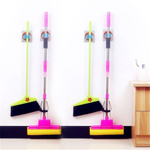 Wholesale Modern New And Fashion Home It Mop and Broom Holder Wall Mount Garden Tool Storage Tool Rack Storage