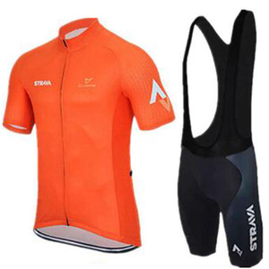2020 Pro Summer STRAVA Cycling Jersey Team Short Sleeve Ropa Ciclismo Maillot Quick Dry Bycicle Clothing 9D Gel Pad