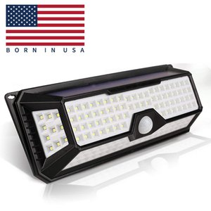 Wholesale 136 LED Solar Floodlights Waterproof PIR Motion Sensor Garden Street Light Powered Wall Lamp for Outdoor Solar Lighting