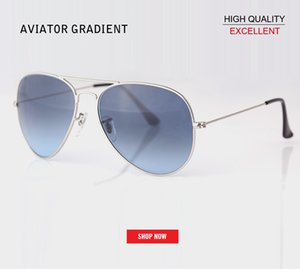 2019 Brand Steampunk gradient lens uv400 Sunglasses Aviation Pilot Vintage Retro Eyewear gafas Women Men Brand Fashion gradient Sun Glass