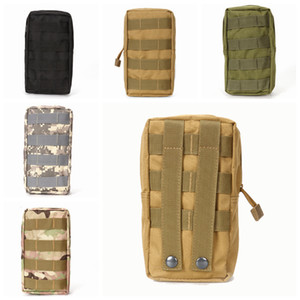 Wholesale Nylon Mountaineering Bag Outdoor Molle Multi Funcation Waist Pack For Mobile Phone Mini Tools Pouch Sport Bag ZZA873
