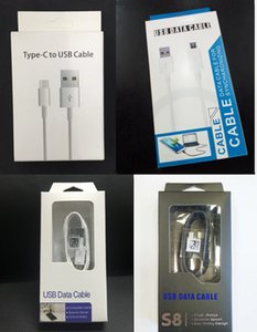Wholesale Retail Package Bag Boxes Packaging Box For Phone Type C Micro USB Charger Data Cable Samsung Galaxy S4 S6 S8 S9 S10 Note Universal