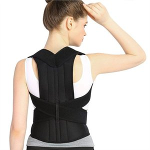 Wholesale Breathable Back Support Brace Back Support Vest for Women and Men Straighten and Correct Posture Upper Shoulder Corrector