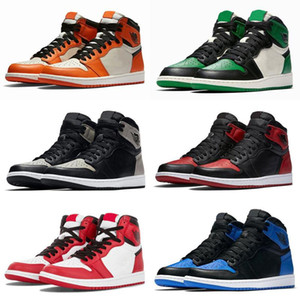 Wholesale new Jumpman 1 I Basketball Shoes Athletics Sneakers Running Shoe For Kids Women Men Sports Torch Hare Game Royal Pine Green Court
