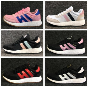 Wholesale 2018 Casual Top Iniki Runner Boost Iniki Retro Mens Runner Shoes OG London Iniki Sneakers Women Athletic Sneaker high quality sports shoes