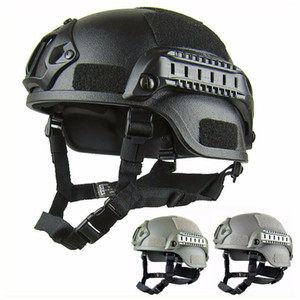 Quality Lightweight FAST Helmet MH Tactical Helmet Airsoft Gear Paintball Head Protective for CS SWAT Riding Hunting Shoot Protect