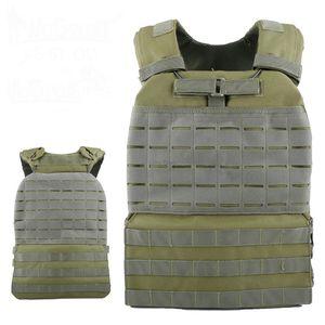 Training Tactical Vest Body Armor Cs Wargame Combat Paintball Vest Molle Plate Carrierr Vests