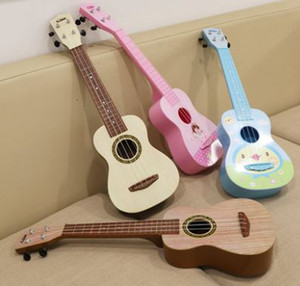 Wholesale Ukulele children s mini guitar toy for beginners can play Musical Instruments let the baby feel the fun of playing