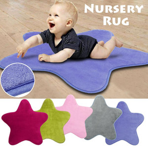Wholesale baby floor play resale online - HomeTextile Star Kids Play Mat Baby Rug Anti Slip Comfortable Floor Cotton Crawl Carpet Nursery Rug For Children Room Decoration