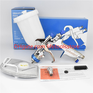 Wholesale W hand manual spray gun W101 painting gun gravity feed type good atomization mm nozzle size