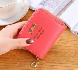 Wholesale Lady s Coin Bag Simple bow pocket zipper pocket Cute Girl s Change Wallet