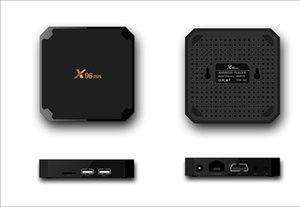 X96 MINI Android 7.1 TV box Amlogic S905W Quad Core 1GB 8GB 2GB 16GB TV Boxes Smart TV