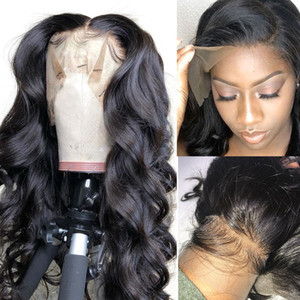 360 Lace Frontal Wig Peruvian Body Wave Human Hair Wigs Hair For Black Women Lace Frontal Human Hair Wigs