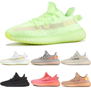 HOT Fashion Glow TrueForm New Clay Static reflective Black Hyperspace Semi Frozen Womens Brand Trainers Yellow Blue Tint Mens sport Sneaker on Sale