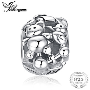 Wholesale JewelryPalace Sterling Silver Doll Bear Charm Beads Fit Bracelets For Your Lover Beautiful Gift For Best Friends Hot Selling