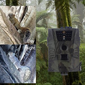 Wholesale Wild cameras HT without MMS LCD Screen Video Game Night Vision NM Invisible hunting trail camera for Animal Wildcamera
