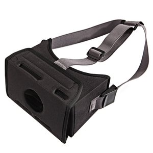 Wholesale Durable Fashion Stretched Strap Black EVA Virtual Reality VR Game D Glasses Universal Easy Wear Mounted Movie For Switch