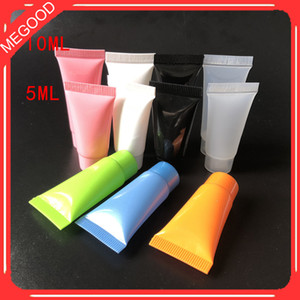 Wholesale tube hose for sale - Group buy 5ml ml Empty Cosmetic Hose Tube Cream Lotion Shampoo Containers Protable Travel Cleanser Soft Tubes