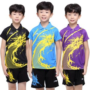 Wholesale Free Delivery new kids table tennis clothes tennis Wear