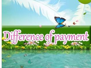 difference of payment11