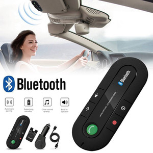 Wholesale Handsfree Bluetooth Car Kit Sun Visor Speaker Auto Wireless Speakerphone Carkit for Phone Hands Free
