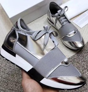 HOT 2019 Sell High Quality Paris fashion Shoes Kanye West Men Women Fashion Low-Top Sneakers Genuine Leather Designer 34-47571 on Sale