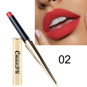 Wholesale Waterproof Lipstick Matte Pumpkin Color Healthy Lipstick Non stick Cup Cheap Hot High Value Eat Earth Rich Vitamin E Moistu