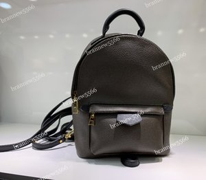 Wholesale 19 Genuine Leather Women s Palm Springs Mini Backpack Multifunction Student Double Shoulder Bags Grade Design Backpack