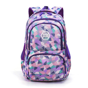 Multi-Color Printed Popular Fashion Children School Bags Boys Backpack For Kids Schoolbag For Girls Y200609