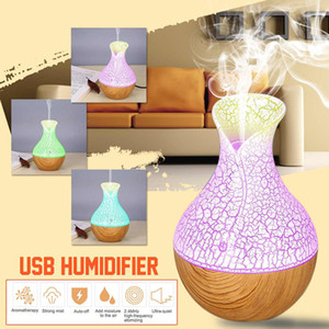 Wholesale 130ml Mini Air Lamp Humidifier Ultrasonic Mist Aroma Diffuser USB Essential Oil Diffuser Aromatherapy Humidifier For Home Car Office