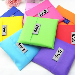 Eco-friendly storage bag portable reusable shopping bags large nylon bag on Sale