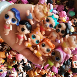 Wholesale lol dolls for sale - Group buy High Quality Original LOL Dolls LOL Little Sister Dolls Muti Style random Series Series Kids Cute Collectible Doll Toy For Girls Birthd