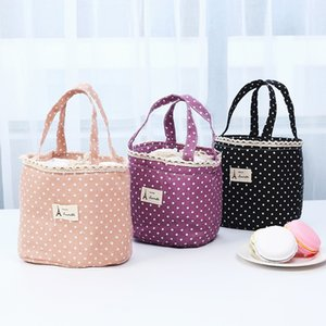 Lunch Bag For Women Ladies Thermal Insulated Lunch Box Tote Cooler Bag Fruit Foods Bento Pouch Container Bolsa Feminina