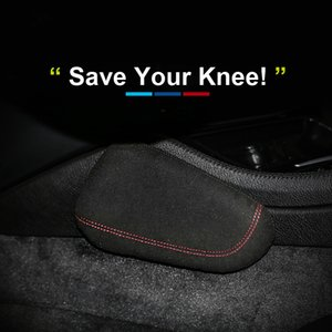 Interior Leather Leg Cushion Knee Pad Thigh Support Car Styling for BMW E46 E39 E60 E90 E36 F30 F10 Ford Mustang Mercedes Audi Accessories