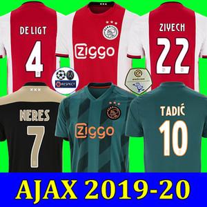 2046a756c89 Wholesale 19 20 ajax soccer jersey DE JONG DE LIGT ajaxa msterdam camiseta  fútbol VAN DE