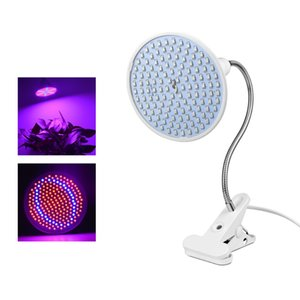 Wholesale LED Grow light Bulb Full Spectrum Indoor Seeds Flower Plant Grow lamp For Hydroponics Greenhouse With EU Plug Desk Holder Clip