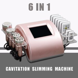 Wholesale Professional ultrasonic cavitation fat reduction machine radio frequency face body lift lipo laser weight loss vacuum massge CE Approval