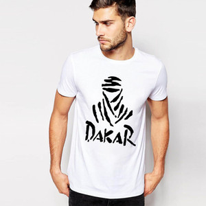 Wholesale popular 2019 men's DAKAR casual slim round collar ninja 3d printing short sleeve t shirts tees