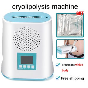 2020 New cryotherapy fat freeze Vacuum cryolipolysis cool traetment weight loss safety cryotherapy fat freeze machine for body shape